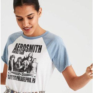 AMERICAN EAGLE AEROSMITH BAND TEE SHIRT